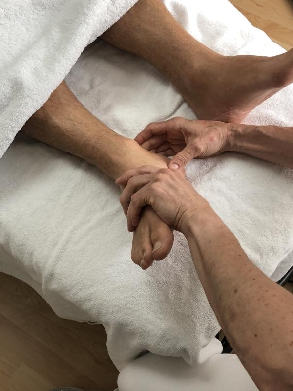 Fussreflexzonen Massage_Martina Keller-Villiger_Eidg. dipl. med. Masseurin